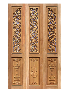 Entrance Door Double